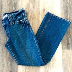 GAP | Curvy Low Rise Boot Cut Jean Pants Sz 8A